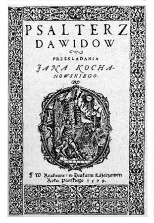 Jan Kochanowski Psałterz Dawidow